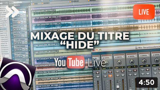 Mixage du titre Hide